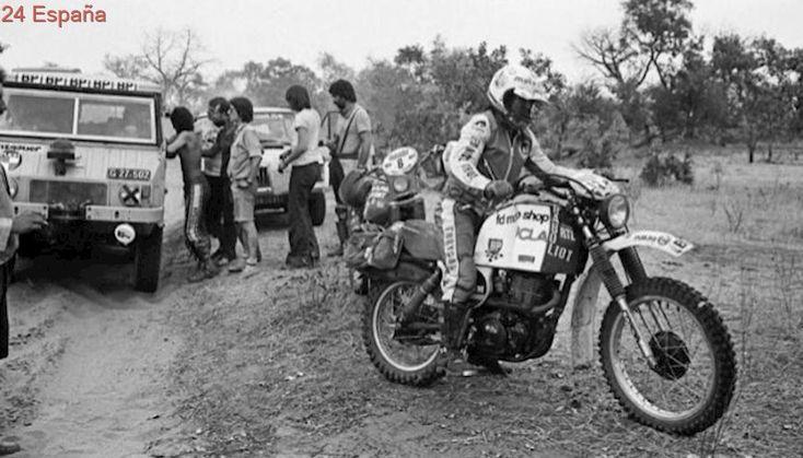 """Los primeros recuerdos del Dakar: """"Dormíamos al pie de la moto, no teníamos ni tienda"""""""
