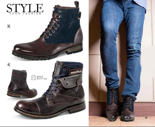 Price Shoes Catalogos 2016 , 2017 Completos ¡VER en Linea! Botas para Hombre, Moda