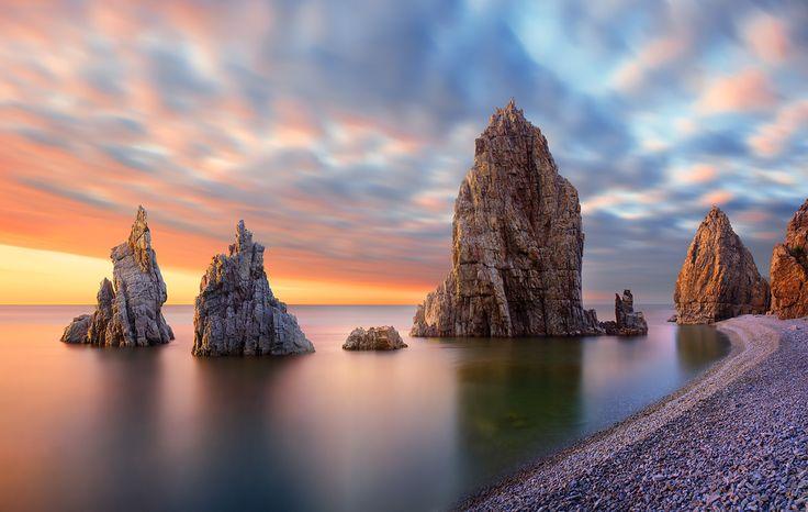 Coastal scenery - dalian china | by Shanyewuyu on 500px