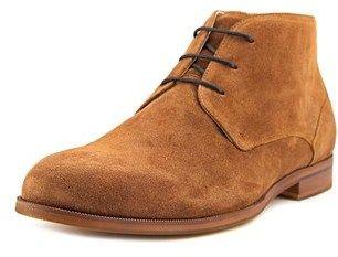Aldo Adoima Men Round Toe Suede Brown Chukka Boot.