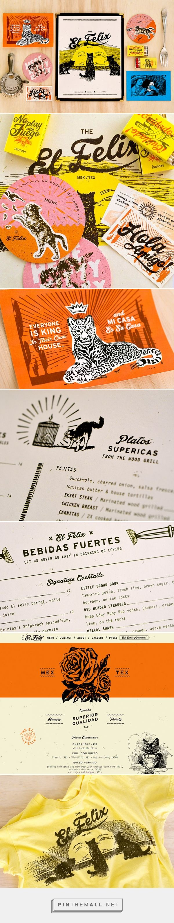 The El Felix Restaurant Branding by Green Olive Media  | Fivestar Branding Agency – Design and Branding Agency & Inspiration Gallery