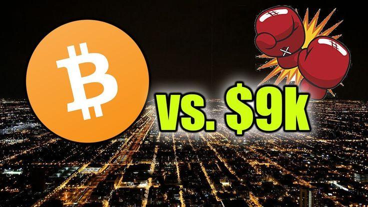 BITCOIN WRESTLES WITH 9k BTC LIVE Bitcoin, Bitcoin chart
