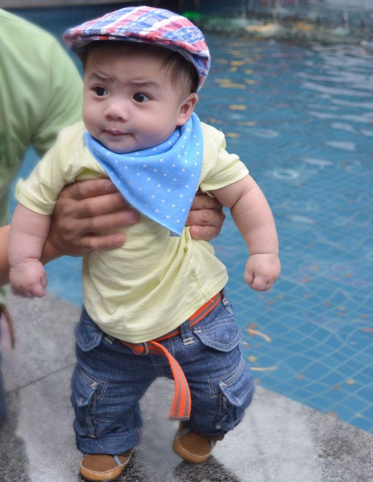 Cargo pants & shirt #baby boy #fashionista