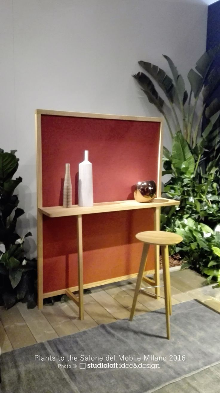 I photographed the plants to the Salone del Mobile 2016