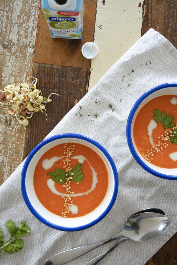 Recept: Geroosterde Paprika Pastinaak soep