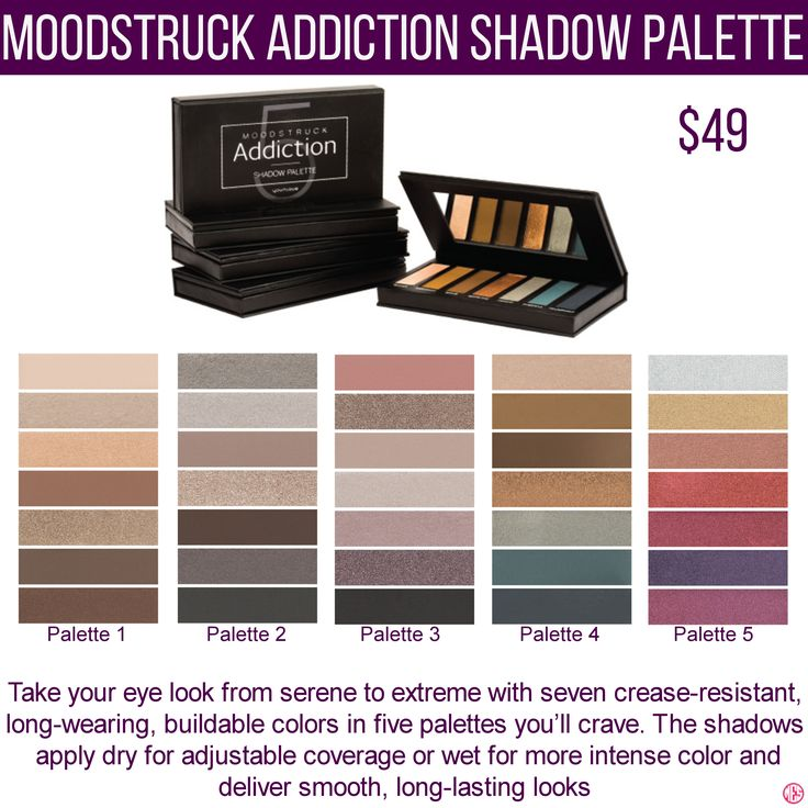 Younique Moodstruck Addition Shadow Palette Eyeshadow To Get Specials New Product Information