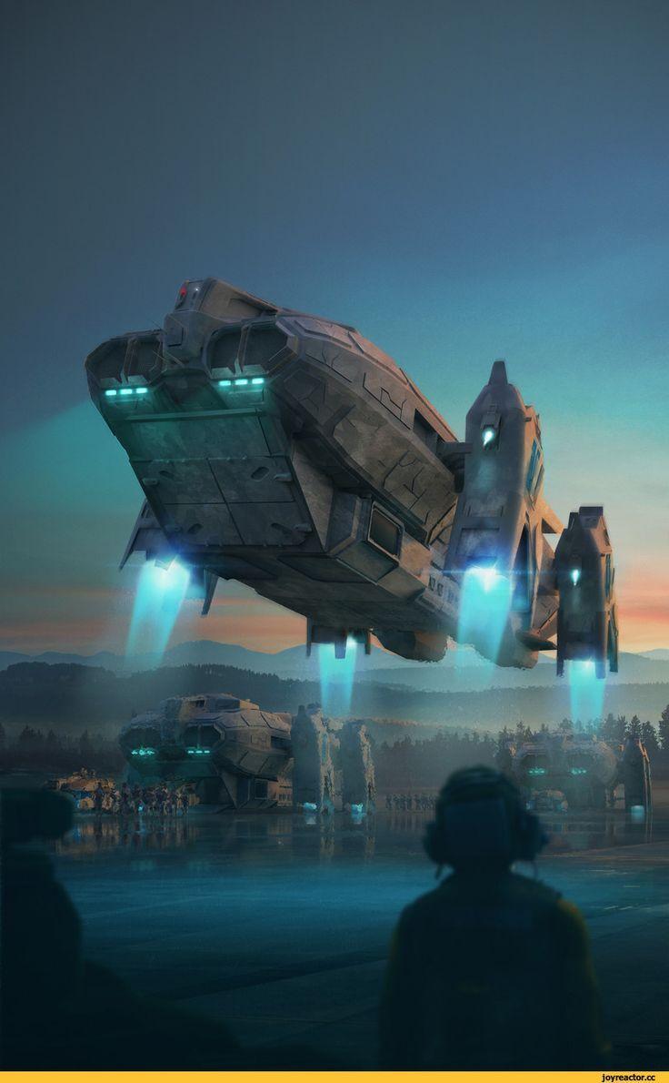 Image result for sci fi ship attack digital art