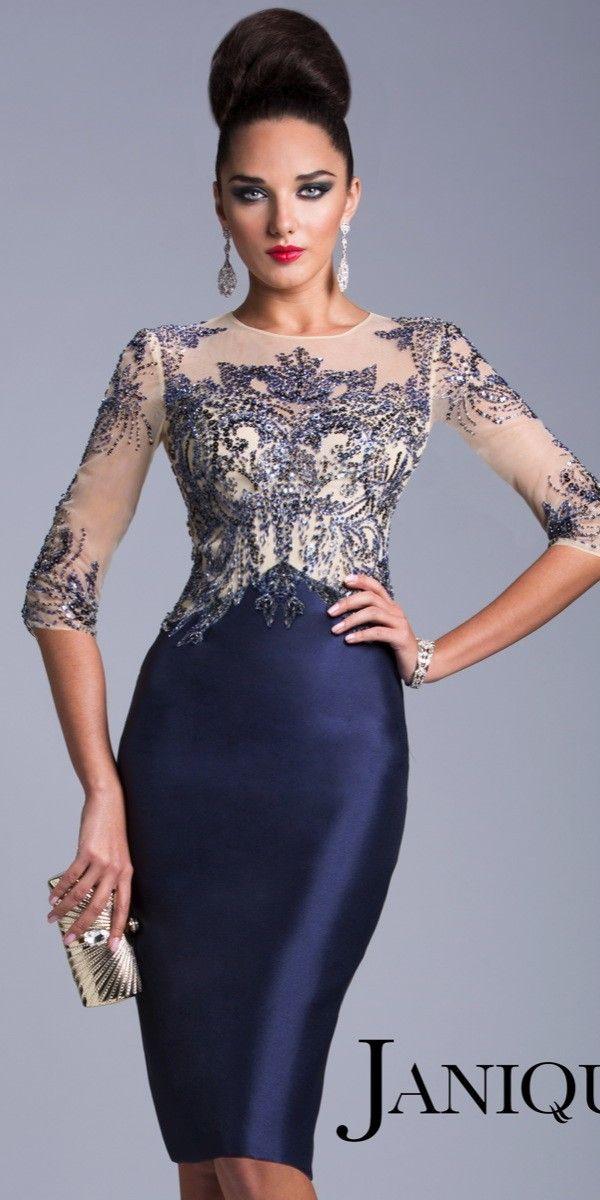 Exquisite Elegant Cocktail Dress Janique 1502