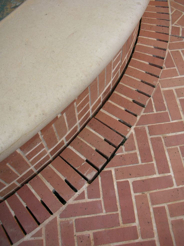 Drainage Detail With Brick Mcdugald Steele In 2019