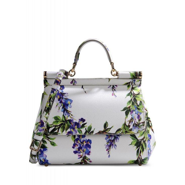 Dolce & Gabbana Miss Sicily Floral Satchel