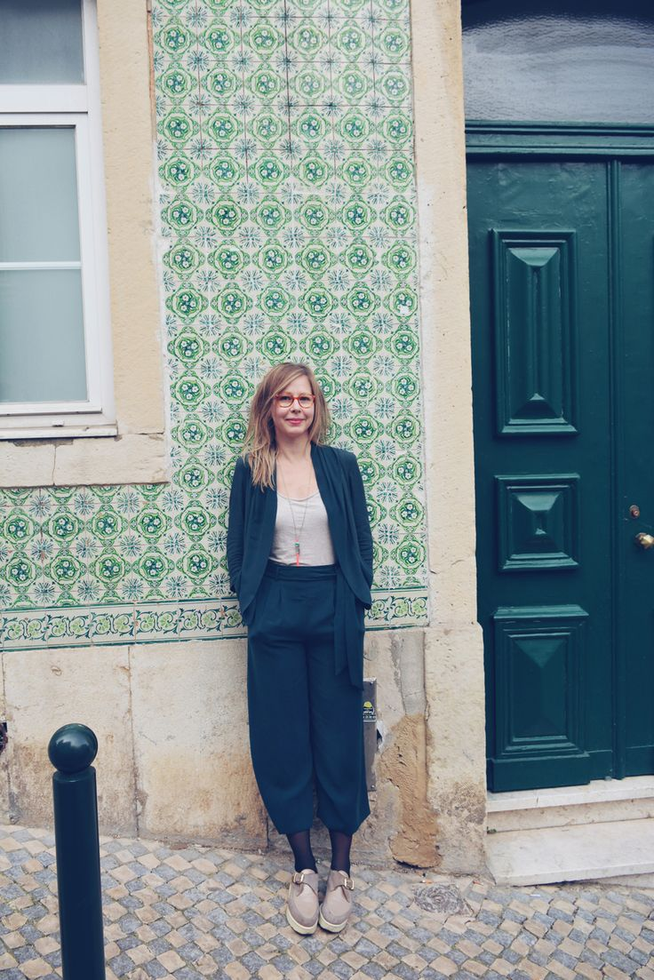 Relaxed suit - visual diary | Lily.fi