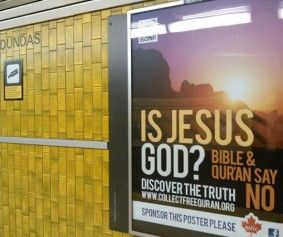 Pinner Said~Jesus is No God – Says Canadian ✖Islamic ✖Charity's Christmas Ad - More Joy and Pieces from this EVIL CULT.