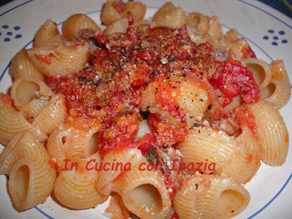 Pasta+con+la+salsiccia+riciclata