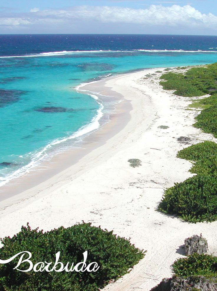 the island of Barbuda an awesome