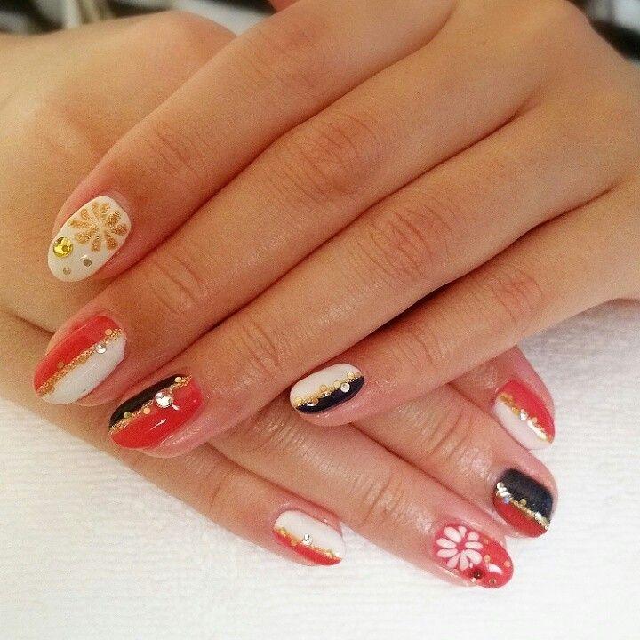 Kimono nail