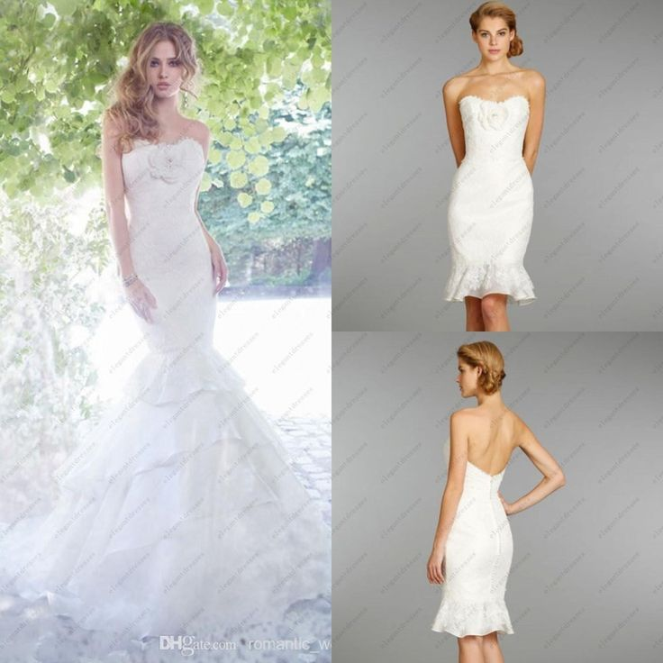 10 best transformation wedding dresses images on pinterest for How to dress up a black dress for a wedding