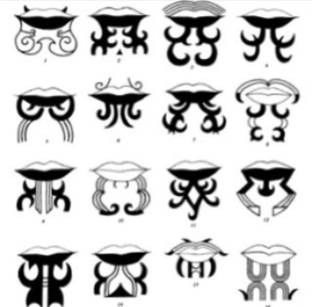Moko Kauae  Chin tattoo
