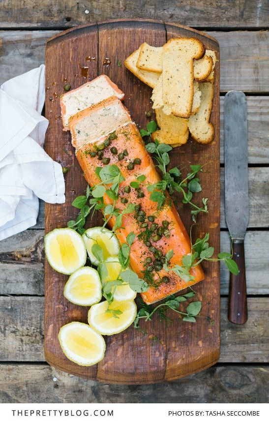 A Special Starter: Smoked Trout Terrine | Recipes | The Pretty Blog
