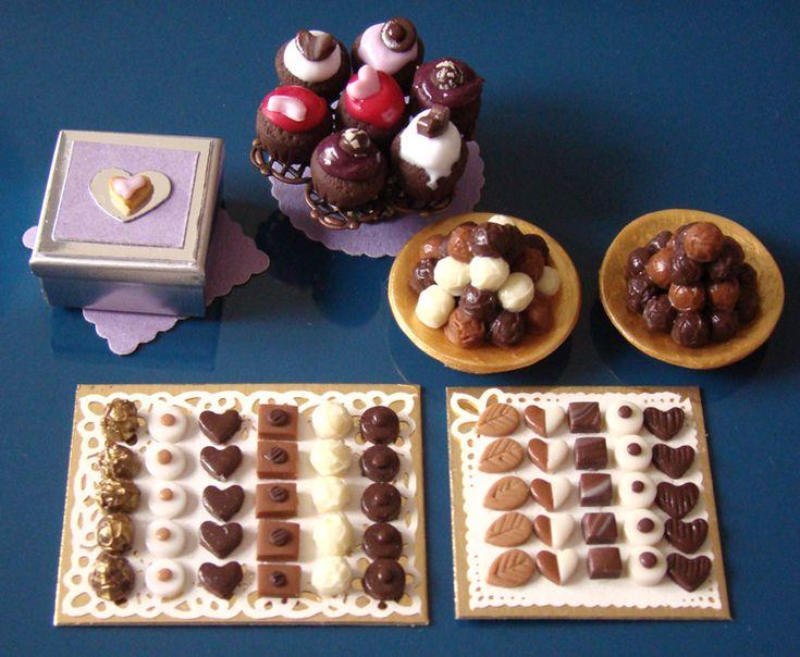 miniature chocolates
