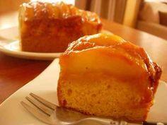 リンゴのカラメルケーキの画像