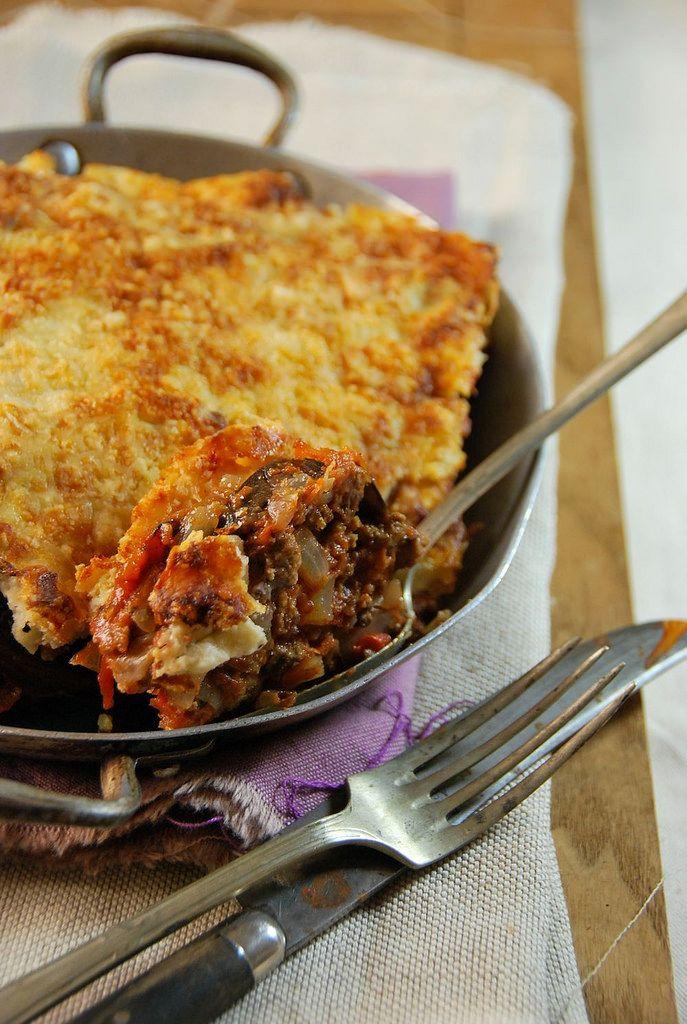 Moussaka - Gratin d'aubergine au boeuf -Tangerine Zest