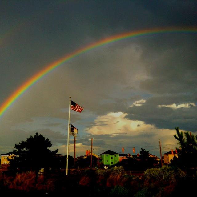 Rainbow over Corolla NC