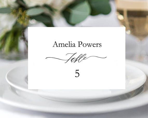 Best 25+ Place card template ideas on Pinterest Free place card - free place card template 6 per sheet