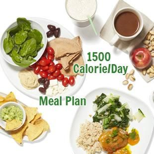 1,500 Calories a day is easy and delicious when you follow this plan. Love food, but want to lose weight? Good news! You can eat yummy food that's low in calories, but leaves you feeling satisfied with this 5-day meal plan to help you lose weight. Each day offers you 3 meals and 2 snacks and delivers just 1,500 calories. Depending on your calorie needs, that means you can drop up to 2 pounds this week by following the plan.