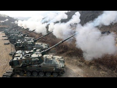 OBAMA SENDS MESSAGE to North Korea with massive US Military drill