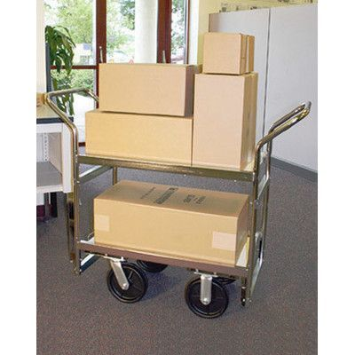 Charnstrom Long Heavy Duty Industrial Utility Cart