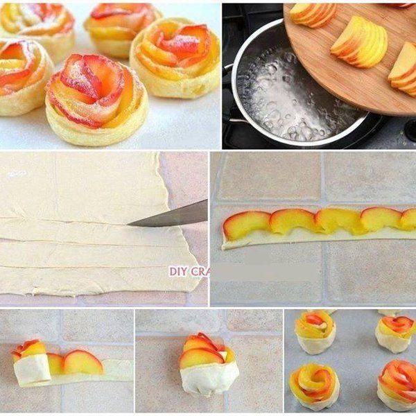 Różyczki- dekoracje na tort
