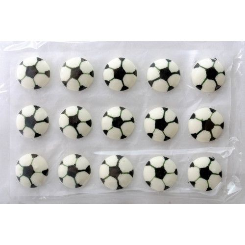 Edible Soccer Ball Decoration | Sports Party Theme and Supplies available at www.buildabirthday.co.nz