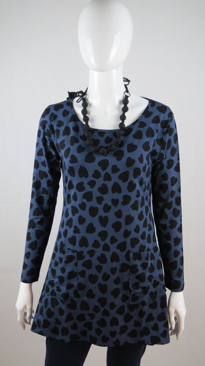 Tunic with hearts. Love is in the air with Masai Clothing Company. www.withcozy.de