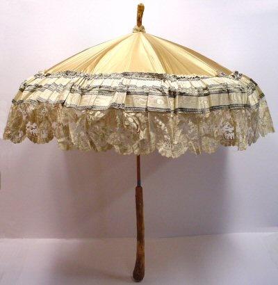 satin parasol civil war era