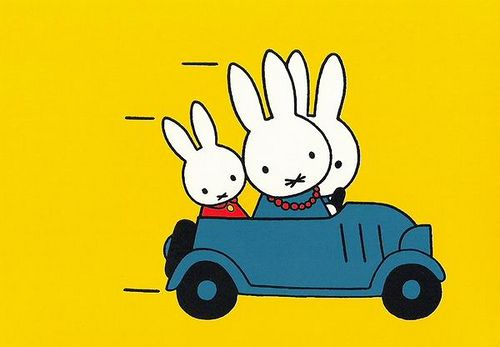 Miffy's being dragged along to another anger management class.
