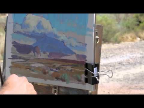 """Maxwell Alexander Gallery Presents: Glenn Dean """"Landscapes of the American West"""" - YouTube"""