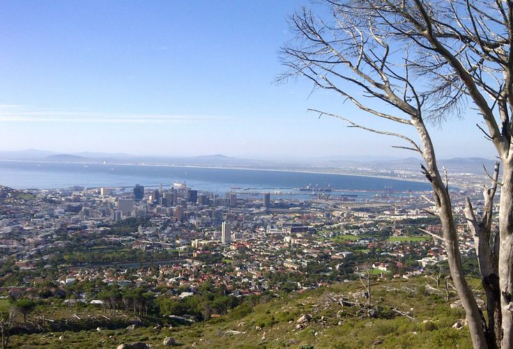 Cape Town, view from Mountain Table
