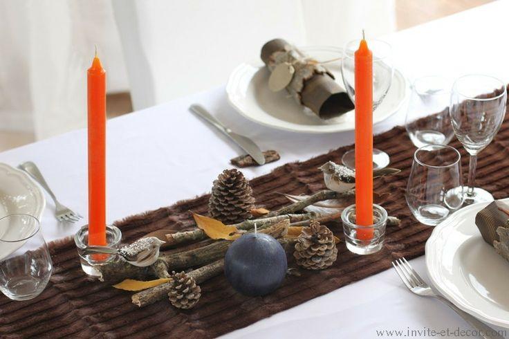 coffret décoration de tables pour noël par invite et decor