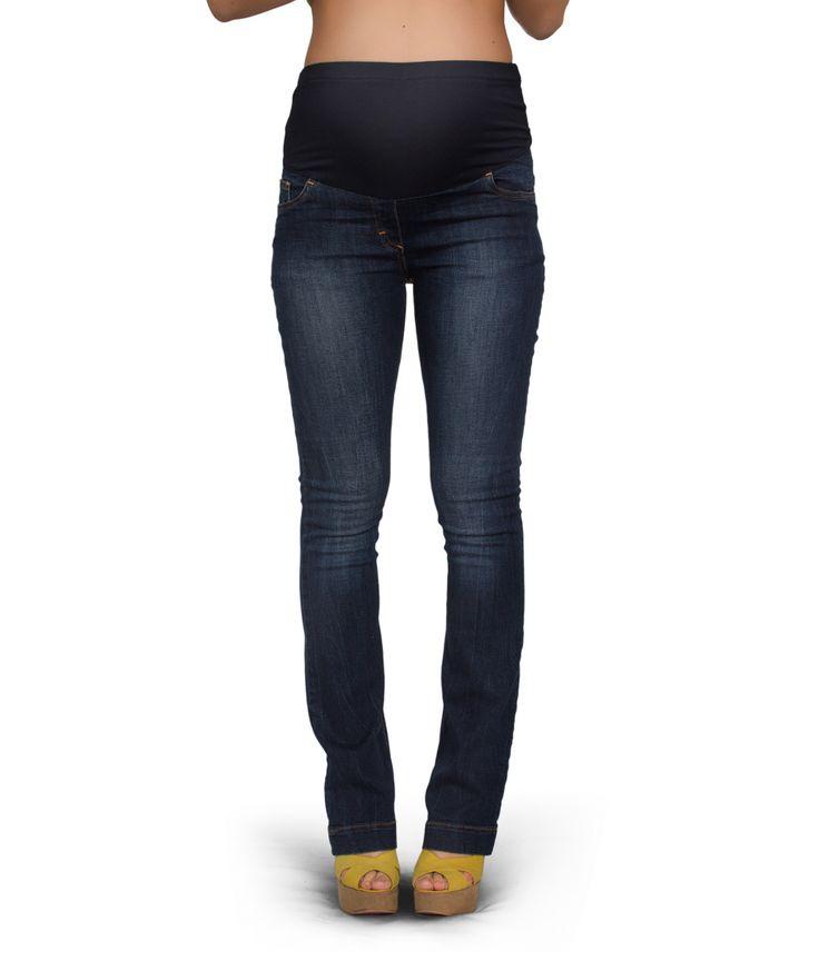 Jeans premaman a zampa - PremamanOnline.com Un jeans premaman trendy e dalla sorprendente vestibilità Indossando questo jeans premaman ti sentirai comoda e trendy : comoda grazie al fascione che abbraccia la tua pancia in tutta sicurezza e confort, trendy perché questo jeans premaman è versatile e perfetto con qualsiasi abito o maglia premaman del tuo guardaroba.