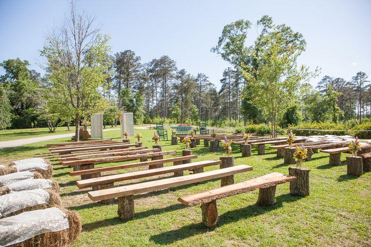Farm Wedding Seating