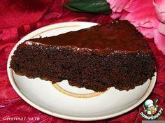"Сумасшедший пирог ""Crazy cake"" (без сливочного масла, яиц и молока)"
