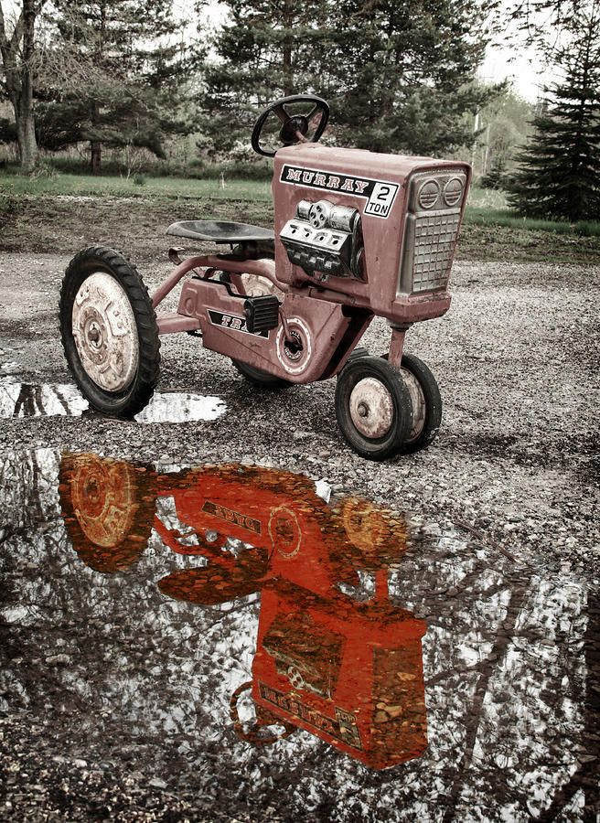 Junior Pedal Tractors Antique : Best vintage pedal tractor images on pinterest