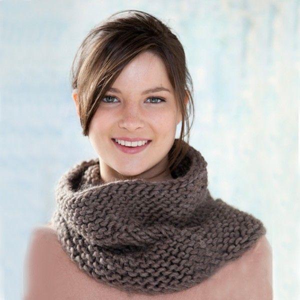 Col sjaal van Katia Love Wool - Gratis patroon!