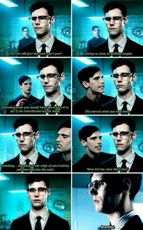 """You can still feel the rush, can't you?"" - Ed Nygma #Gotham"
