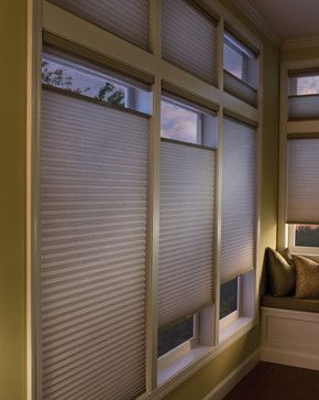 Cellular Shades with Top Down Bottom Up In Master Bedroom - Two Blind Guys - modern - cellular shades - st louis - Two Blind Guys