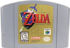 Legend of Zelda Ocarina of Time - N64 Game