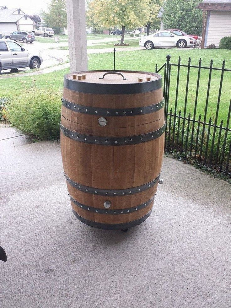 How to build a whiskey barrel BBQ smoker, Page 1