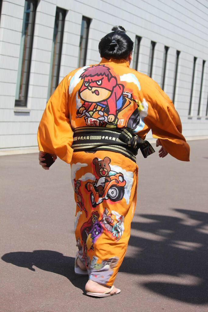 お相撲さん  Sumō wrestler