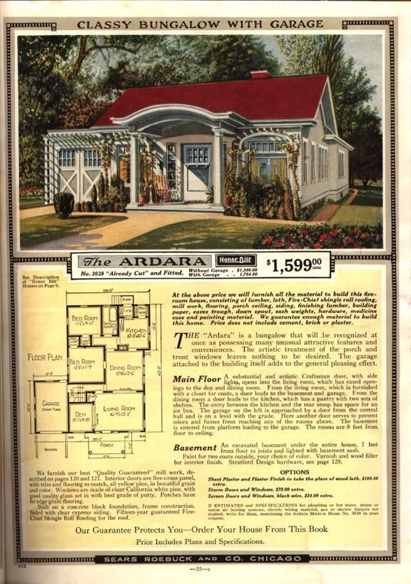 Mail Order Homes --- Past to Present Research, LLC