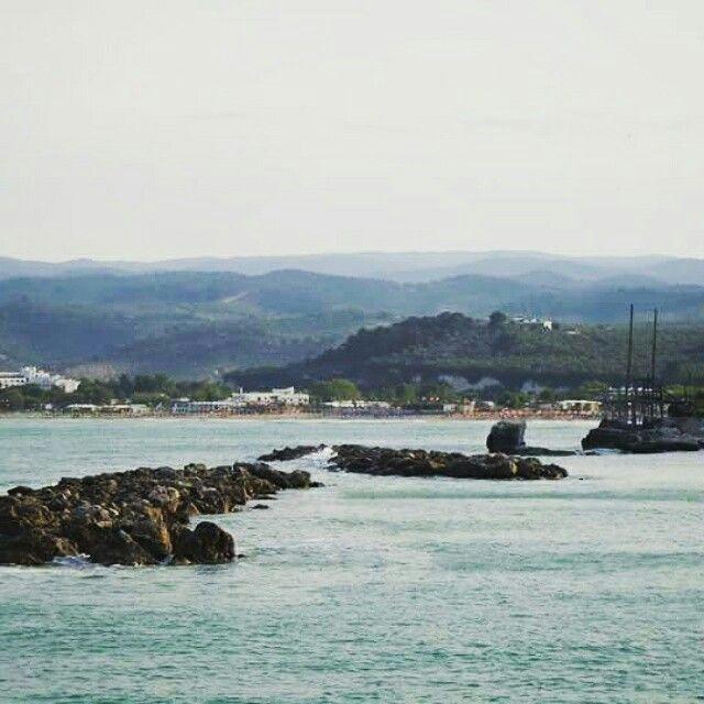 Le spiaggie del #Gargano sono un gioiello! Qui abbiamo la bellissima #Vieste